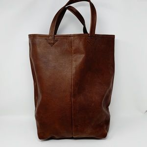 VTG Genuine Leather Tote Bag